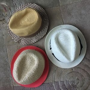 3 hats, new not tags